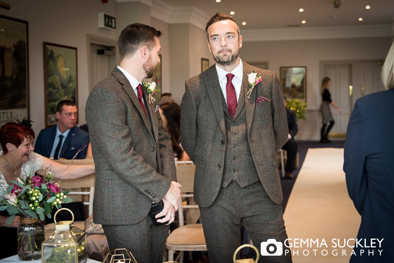 groom at the devonshire fell hotel in burnsall