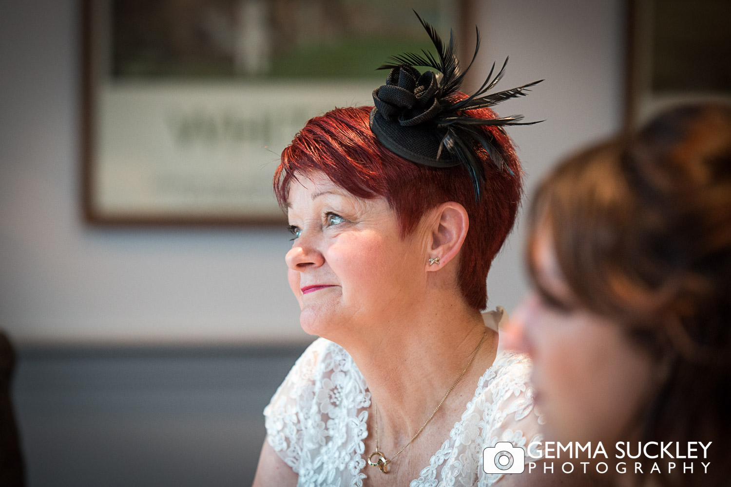 wedding photography during speeches in Burnsall