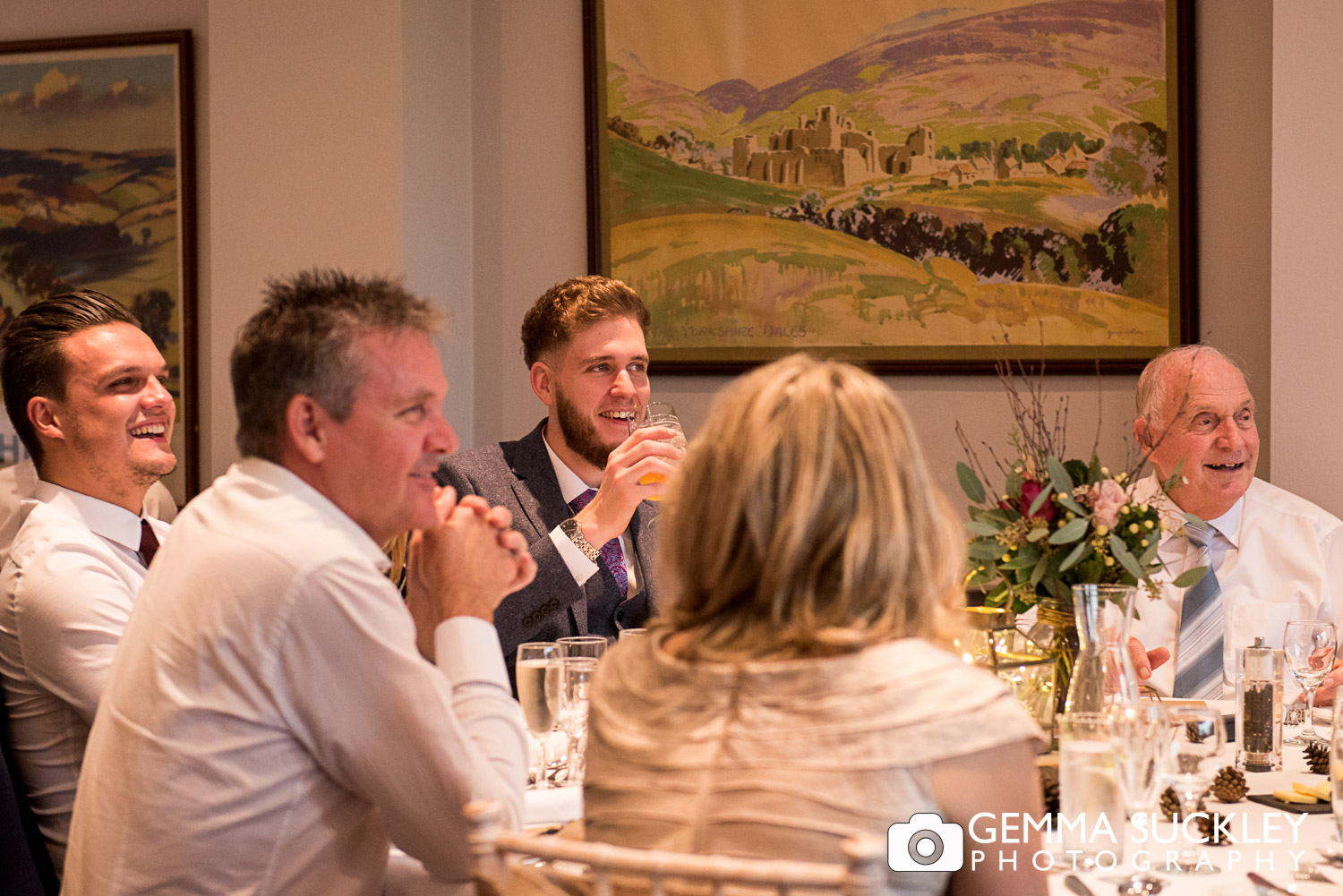 speeches at Devonshire fell hotel wedding photography
