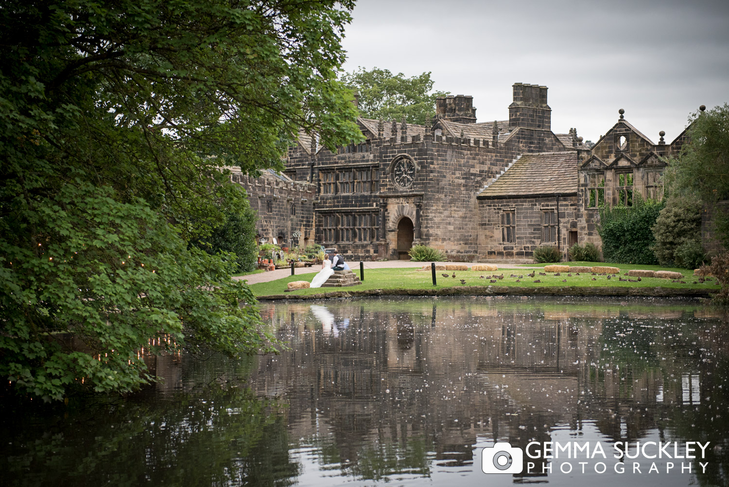 photo of the lake at east riddlesden hall