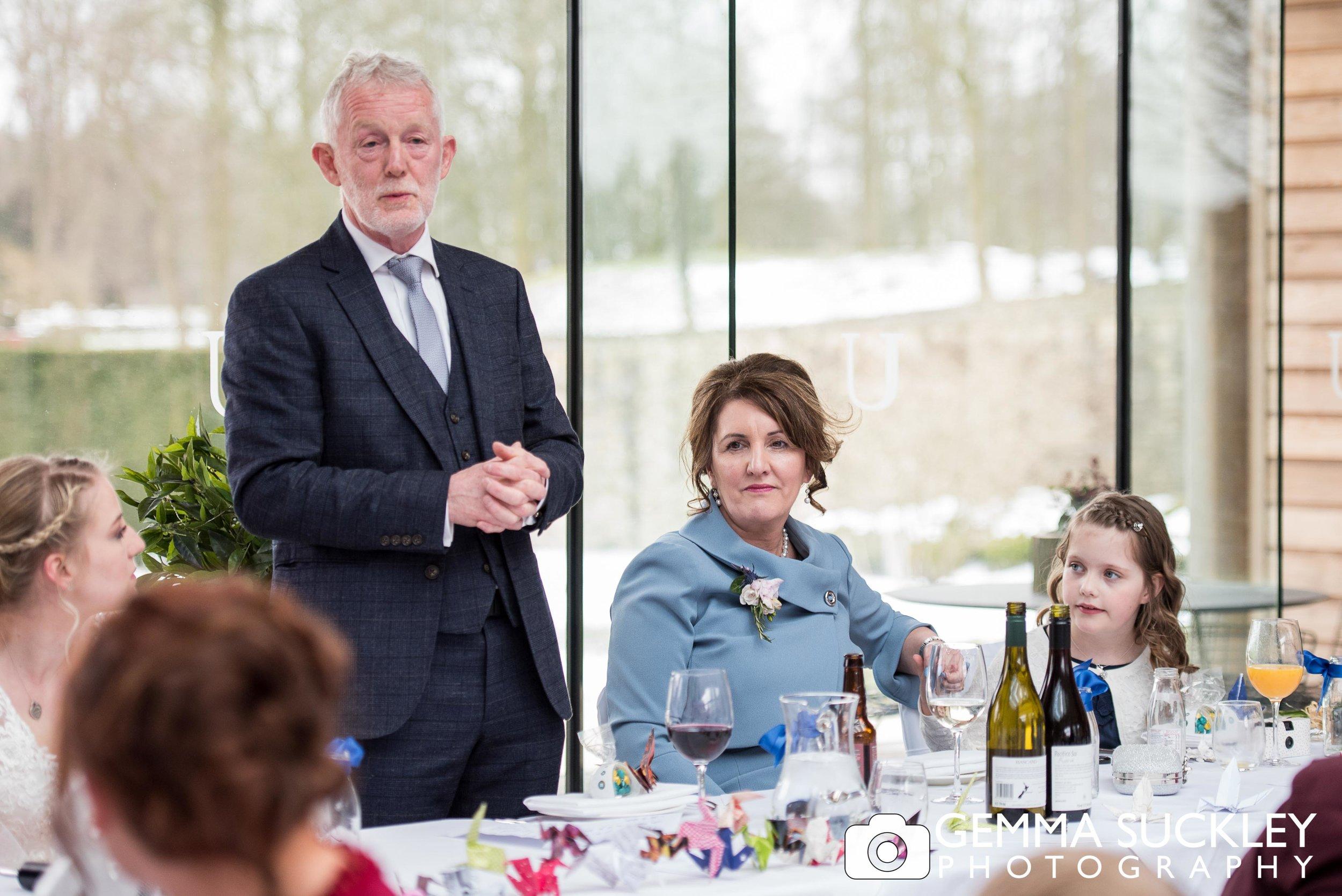 father of the bride wedding speech at utopia wedding