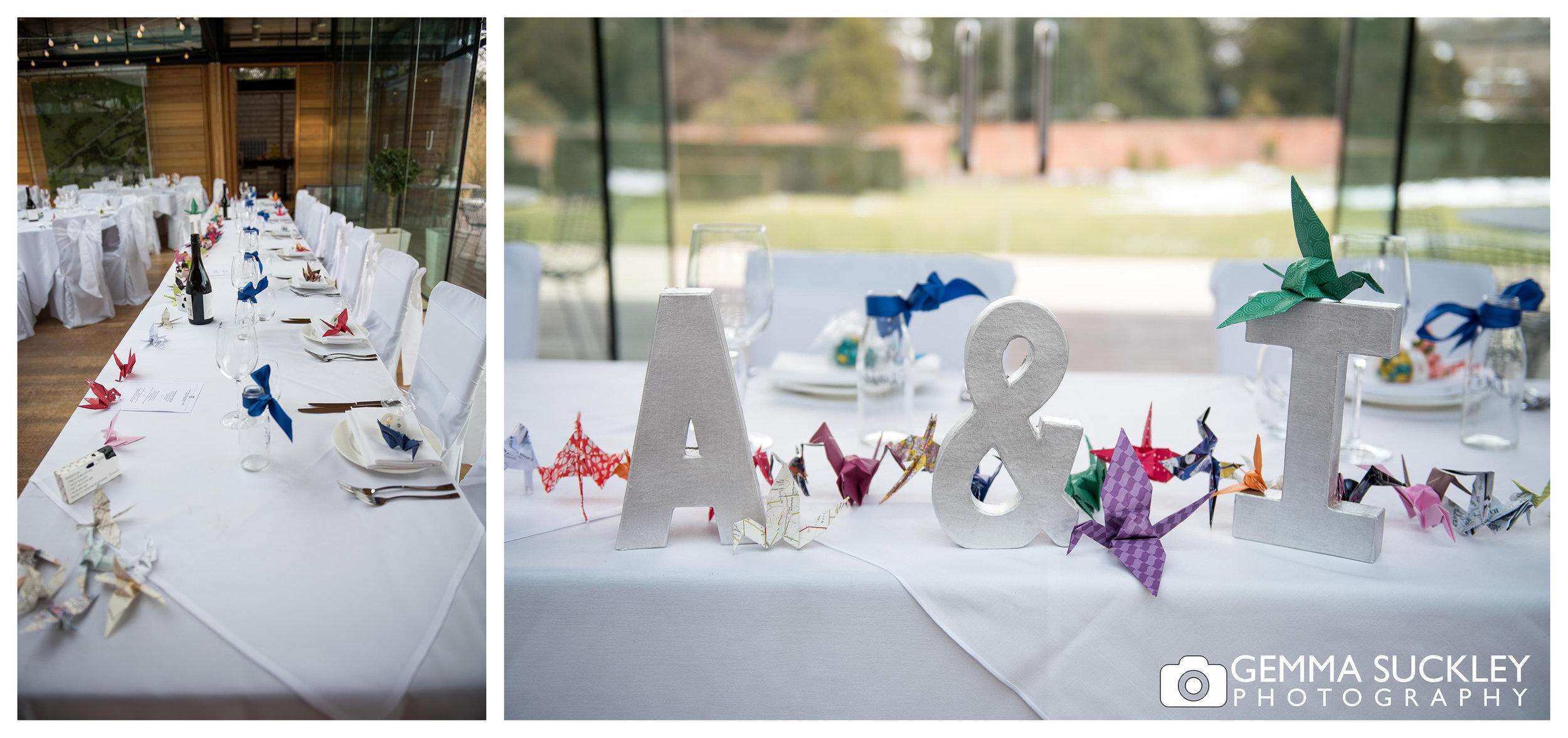 wedding table at utopia broughton hall