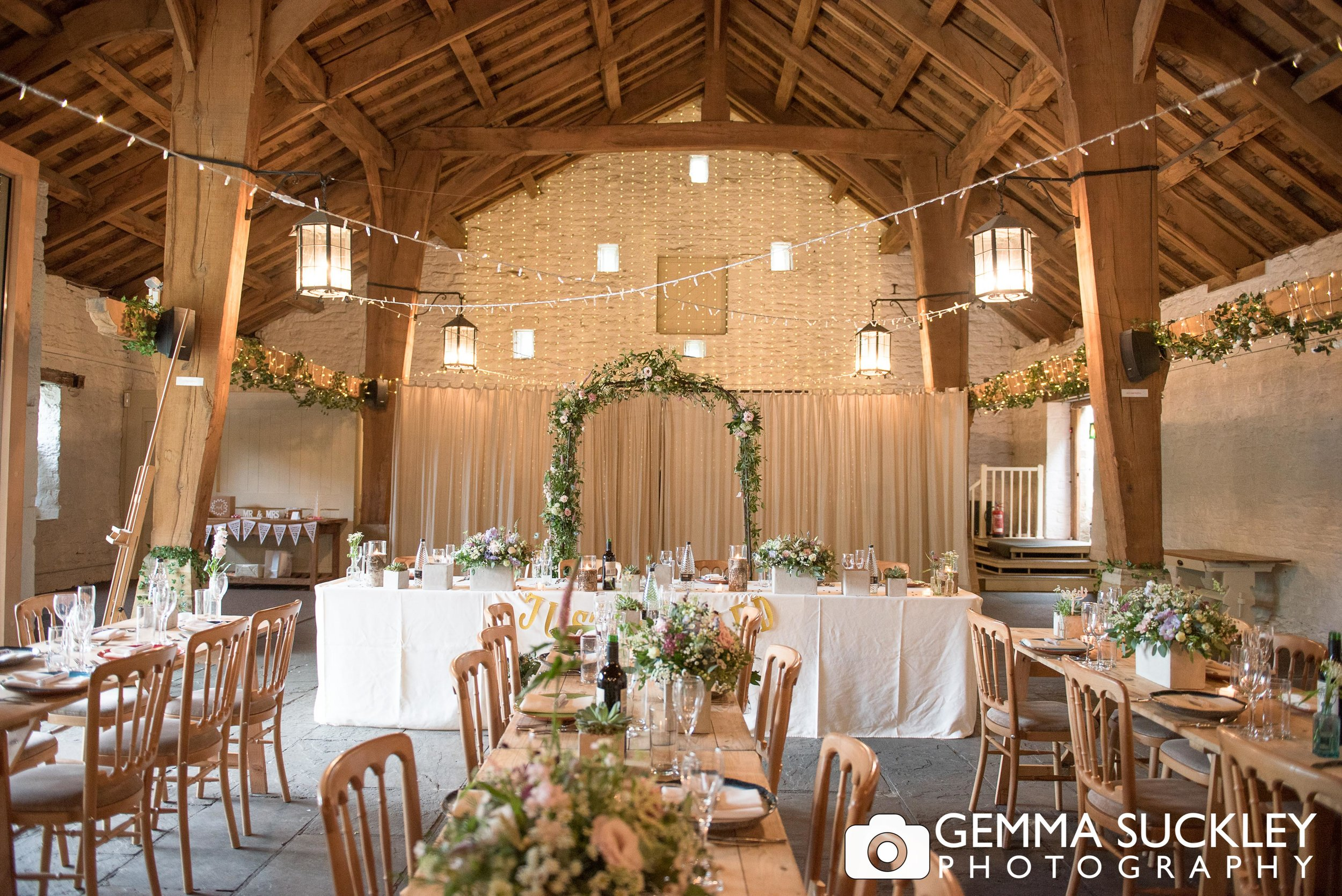 the barn decorated by stem design at east riddlseden hall