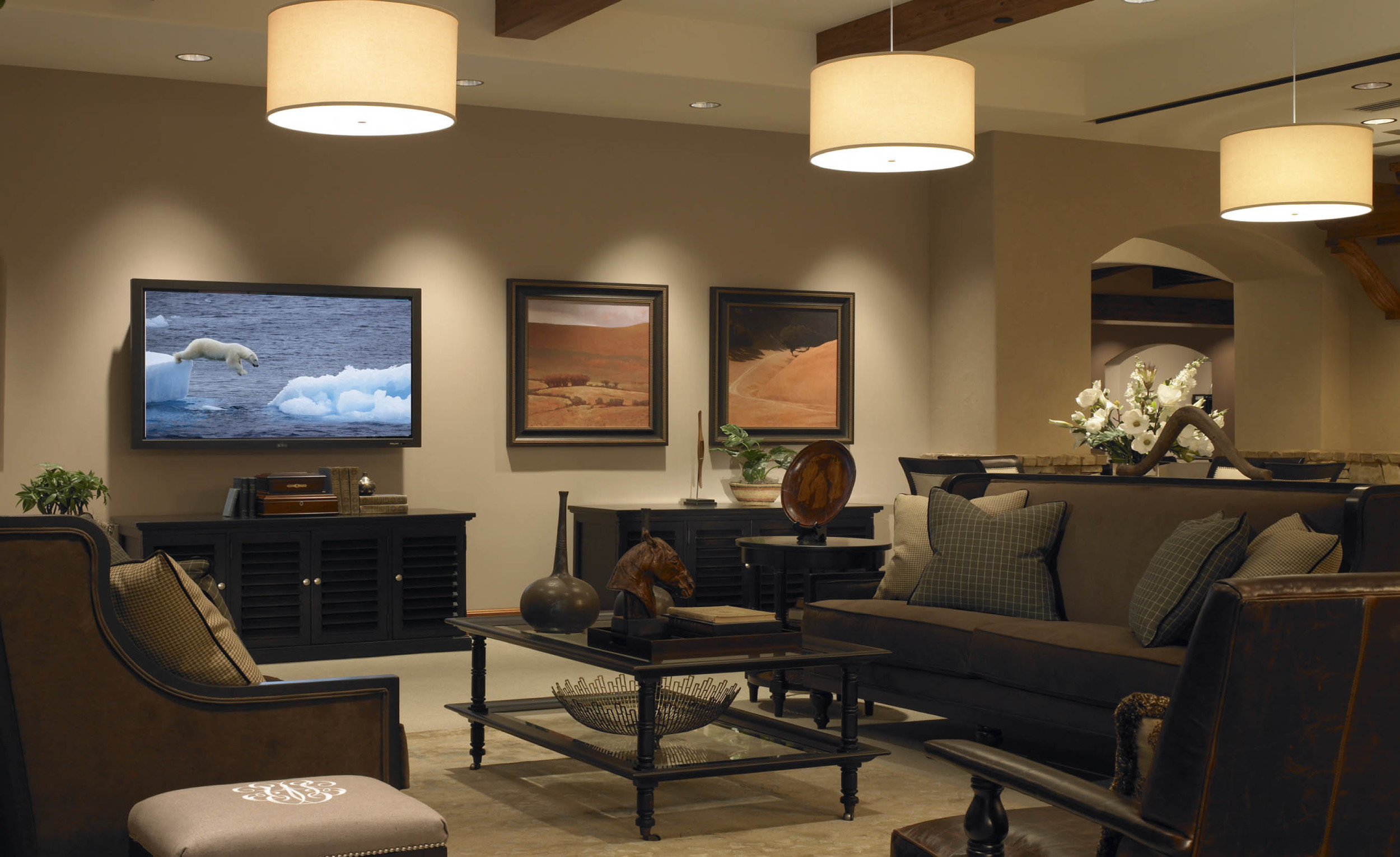 high-class living room
