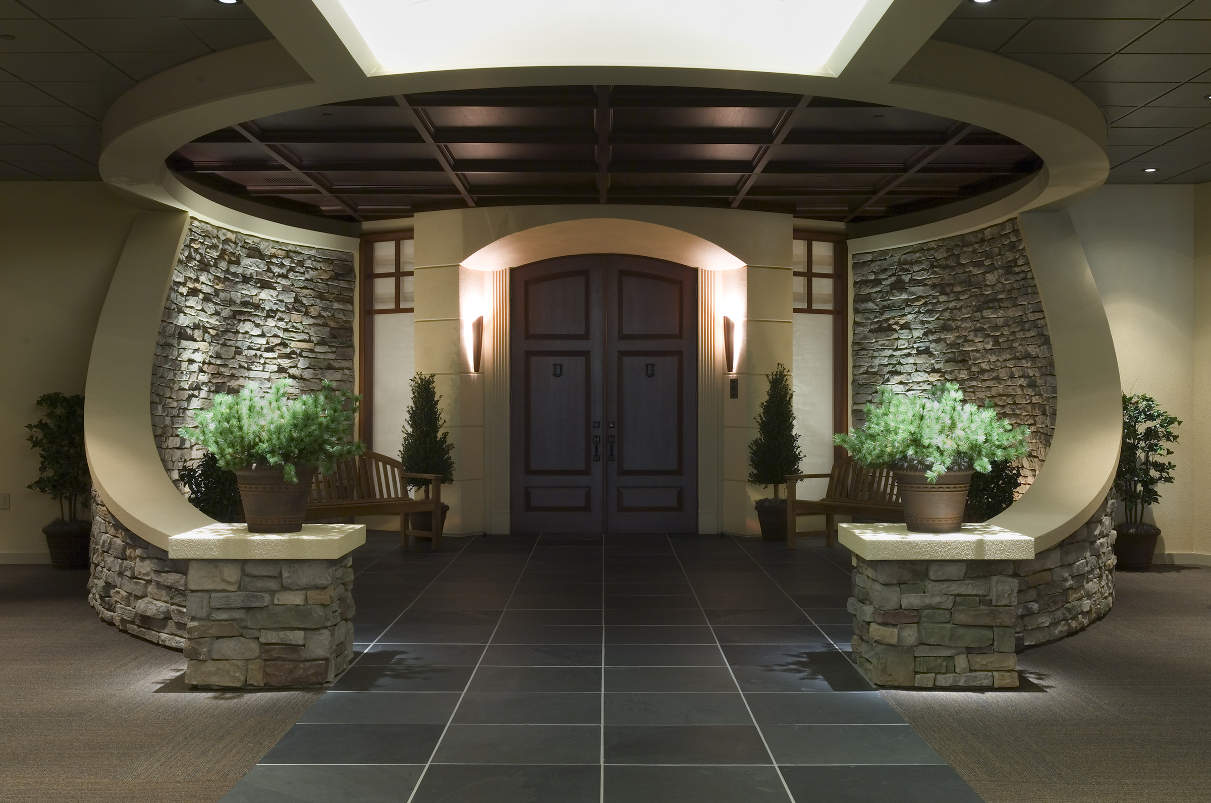 Open Front Door Entrance