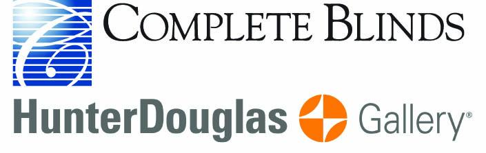 Complete Blinds HunterDouglas Gallery Logo