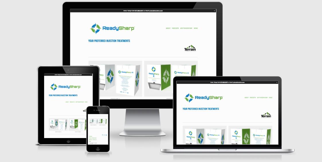 Terrain Pharmaceuticals and ReadySharp™ Product