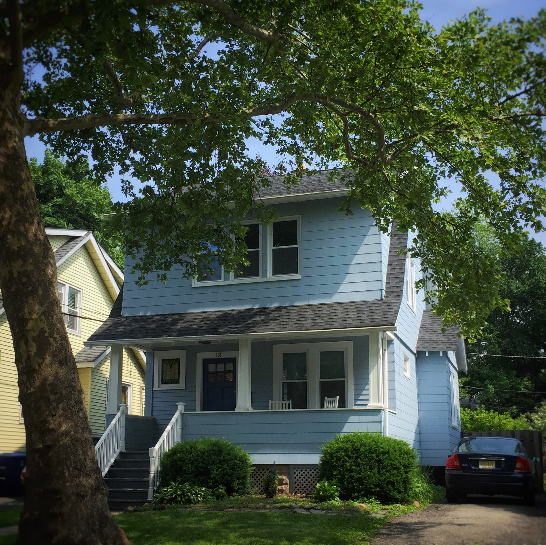 Our humble abode in South Orange, New Jersey
