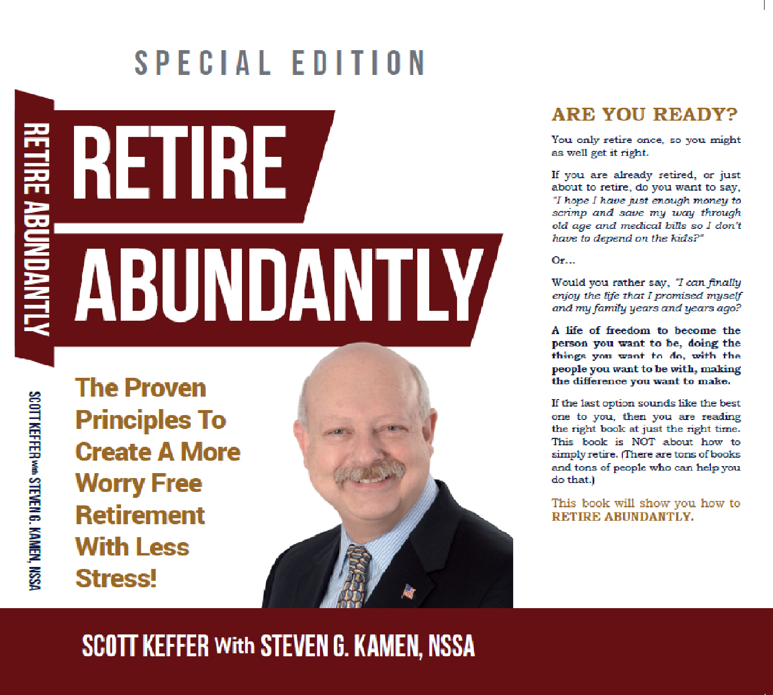 Retire Abundantly - Check back to see how to get your own copy!