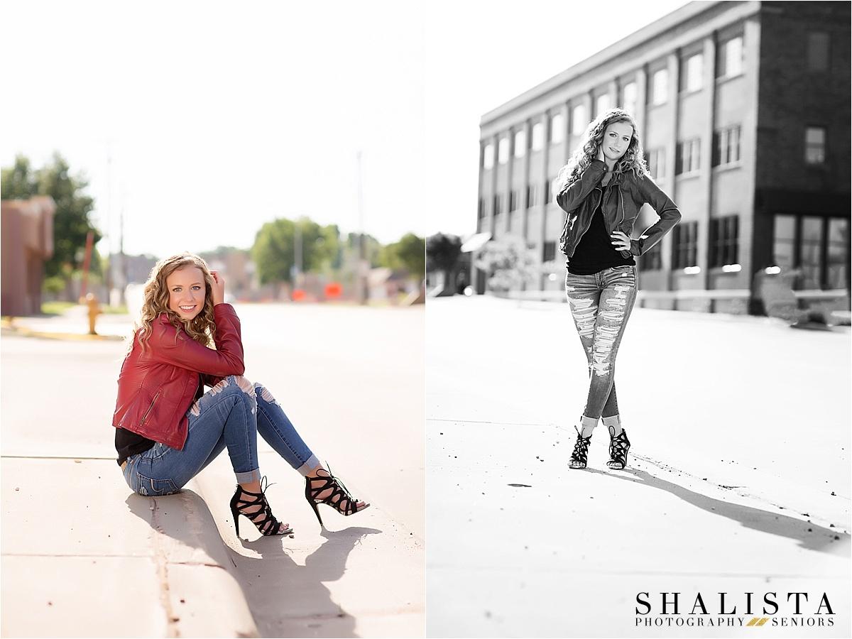 Downtown Sioux Falls Senior Girl