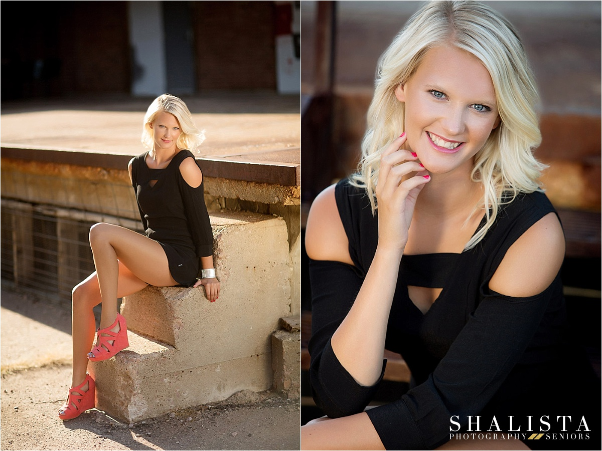 Nicky, Downtown Sioux Falls Senior Photography