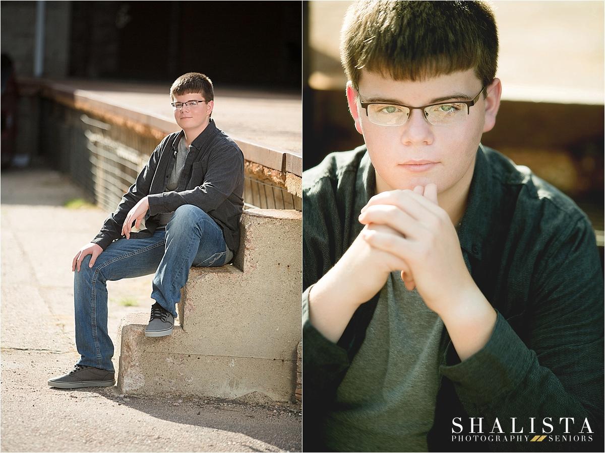 Sioux Falls boy senior photography