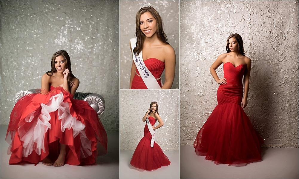 Shalista Photography - Senior girl in prom dress