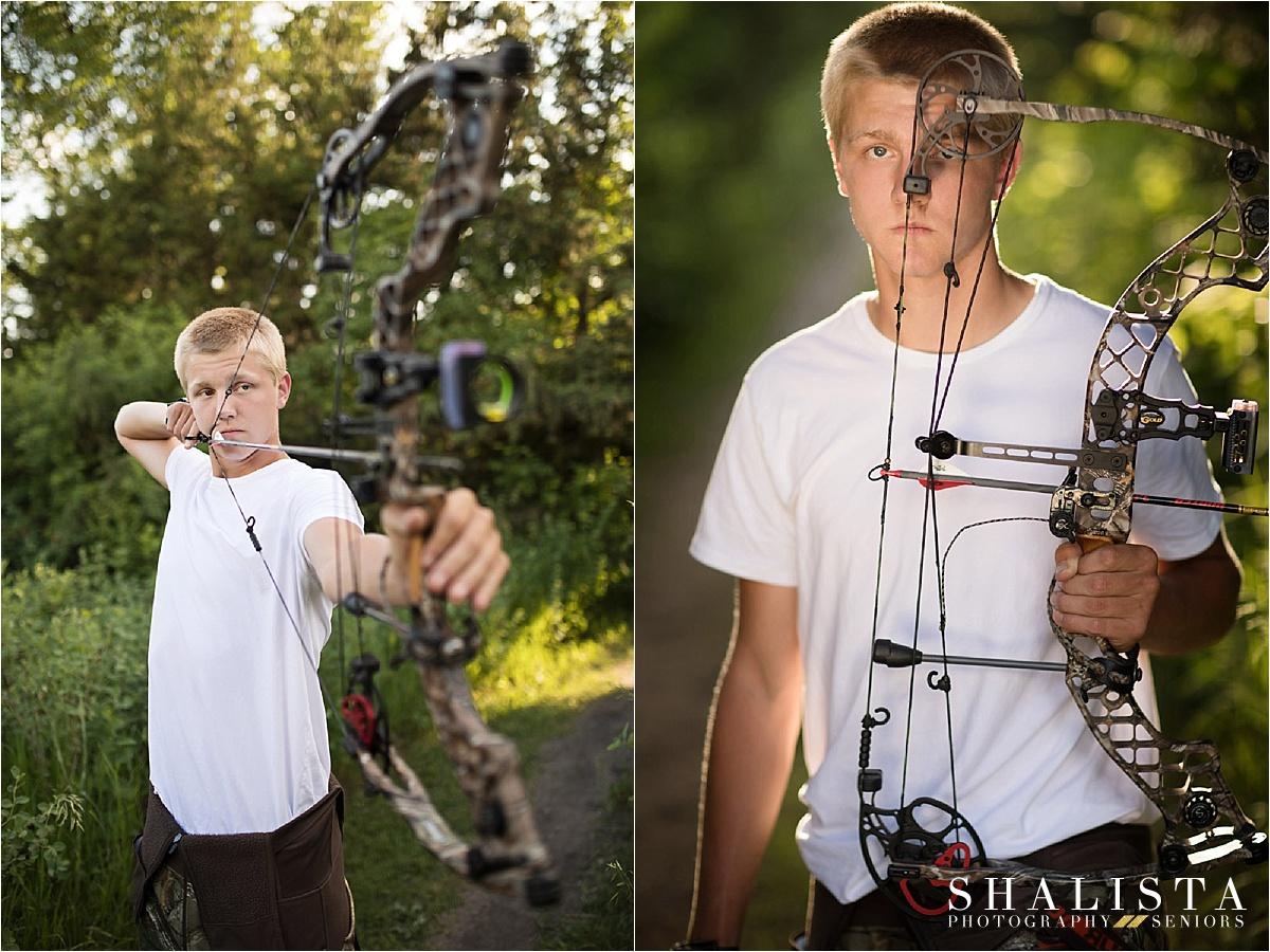 Senior boy with bow - Shalista Photography Senior Portraits