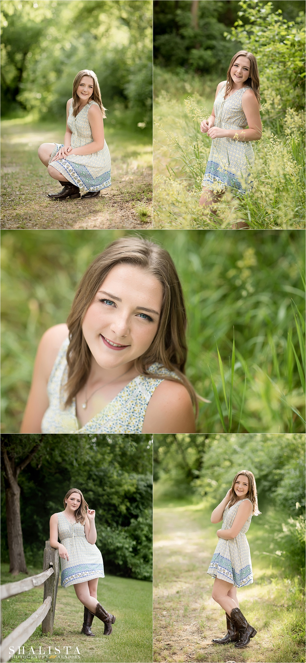 Outdoor Woodsy Senior Pictures | Shalista Photography