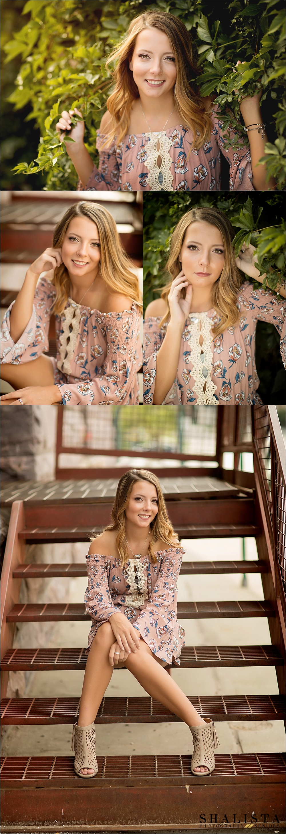 beautful downtown SIoux Falls senior girl