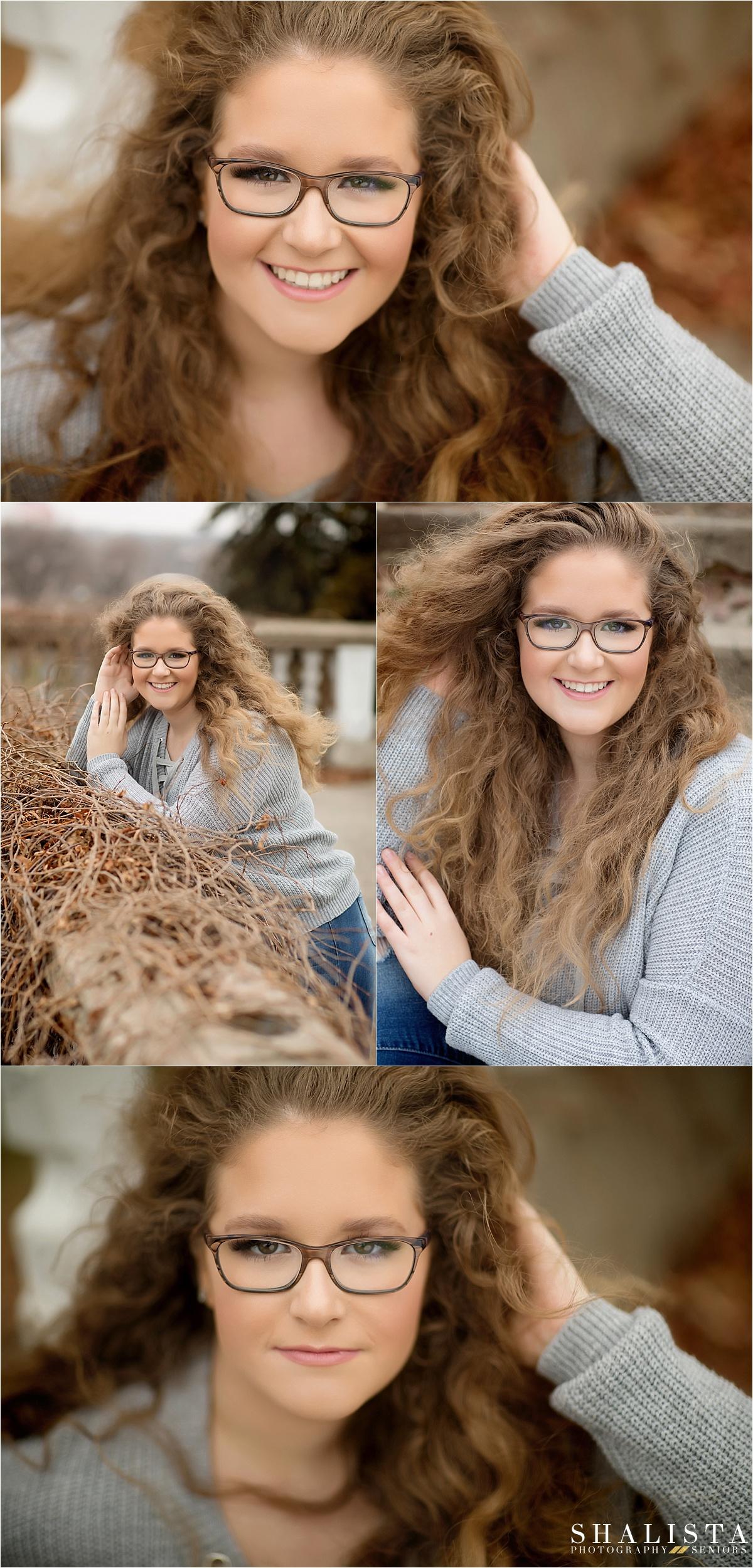 Senior girl fall images