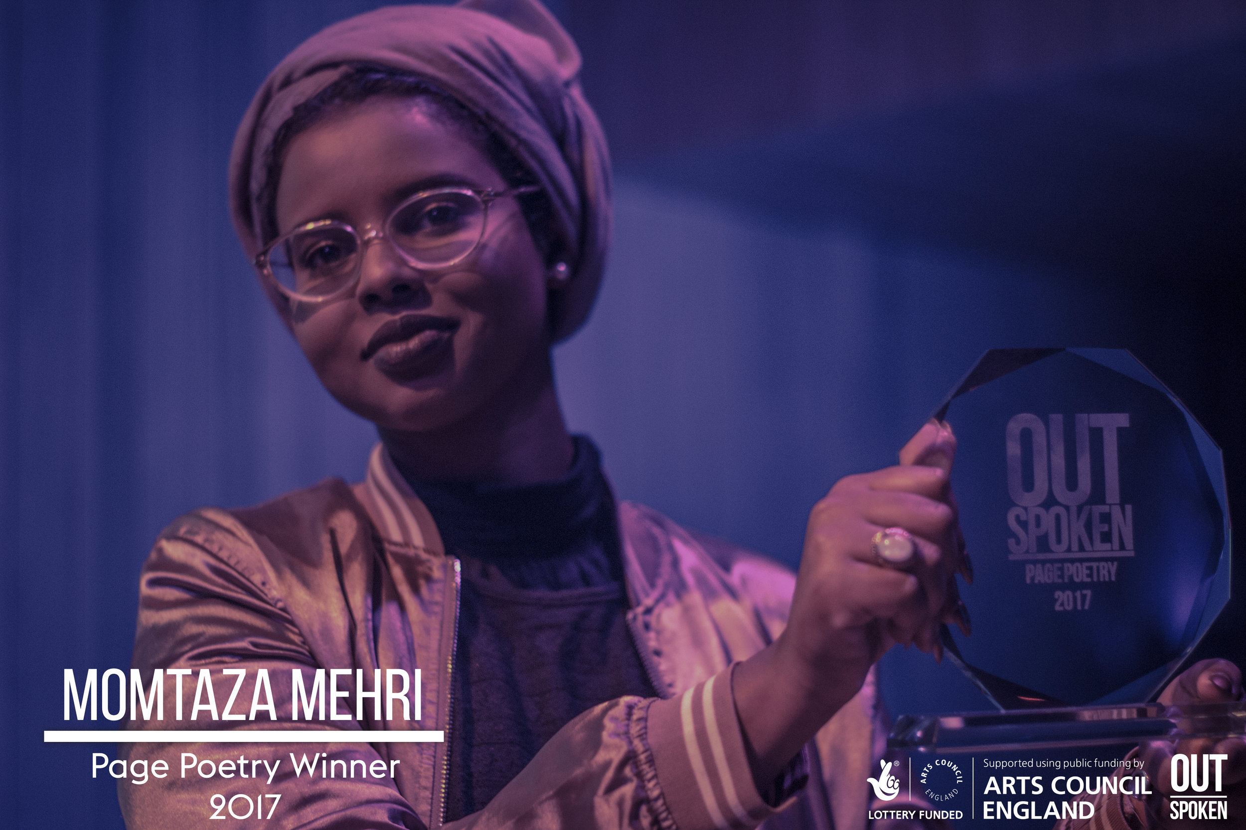 Page Winner: Momtaza Mehri - Click To Read The Poem