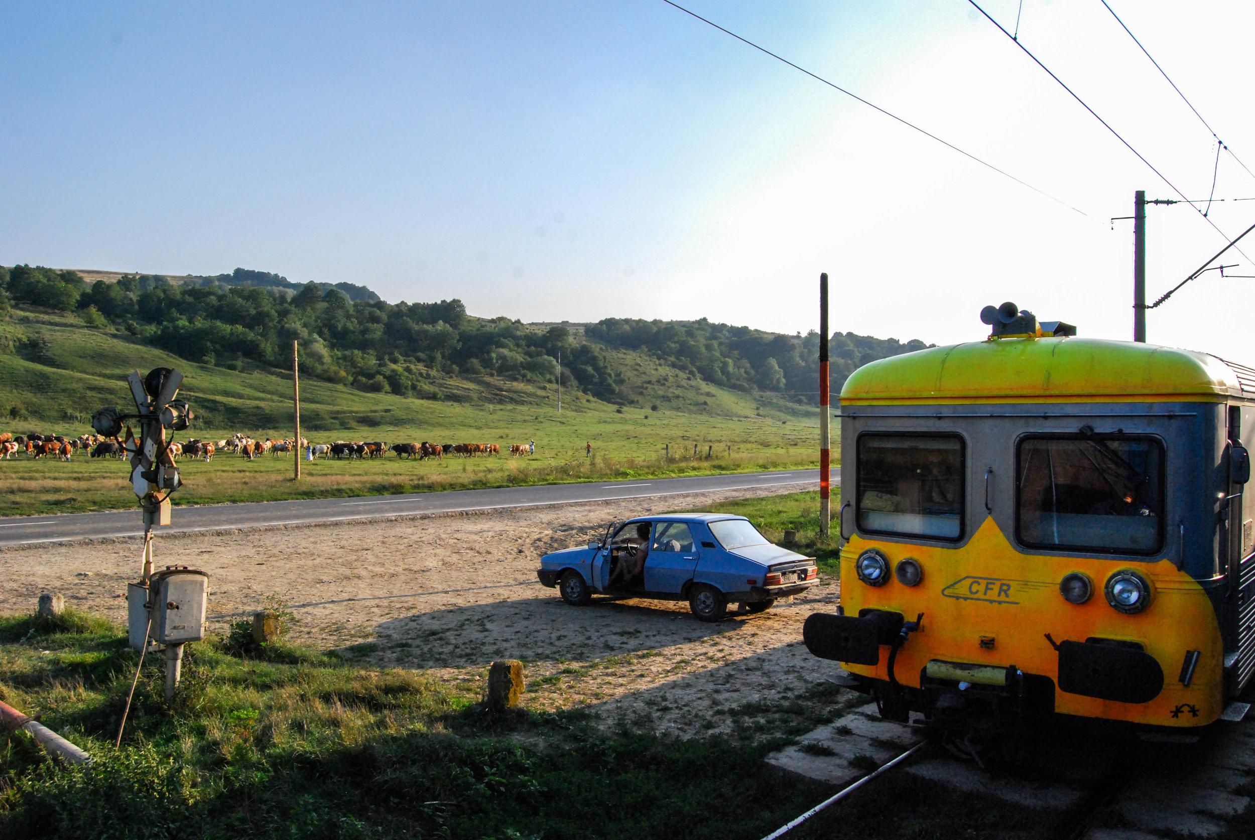 Railroad Crossing, Romania   2010