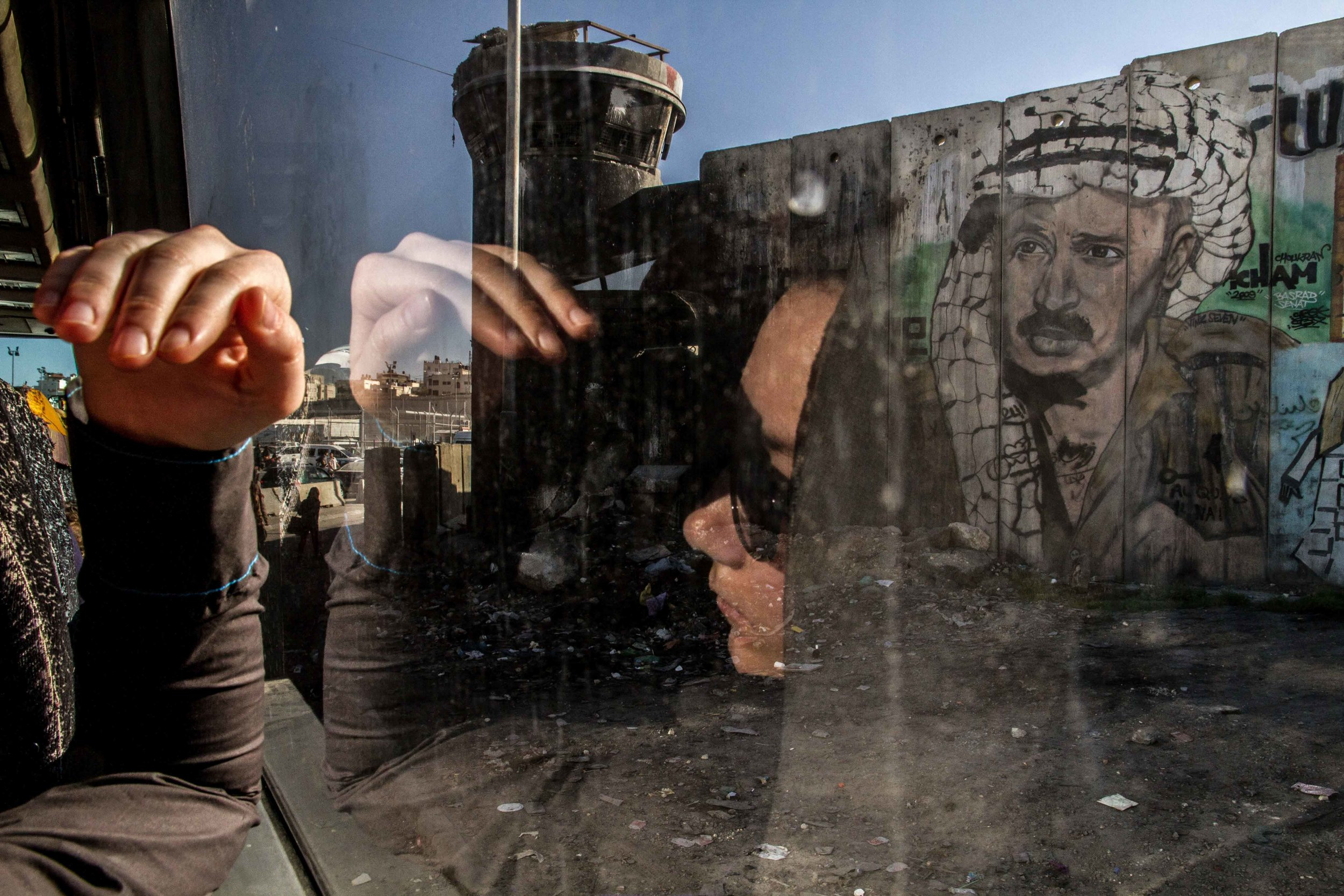 Qalandia Checkpoint Ramallah-Jerusalem | 2014