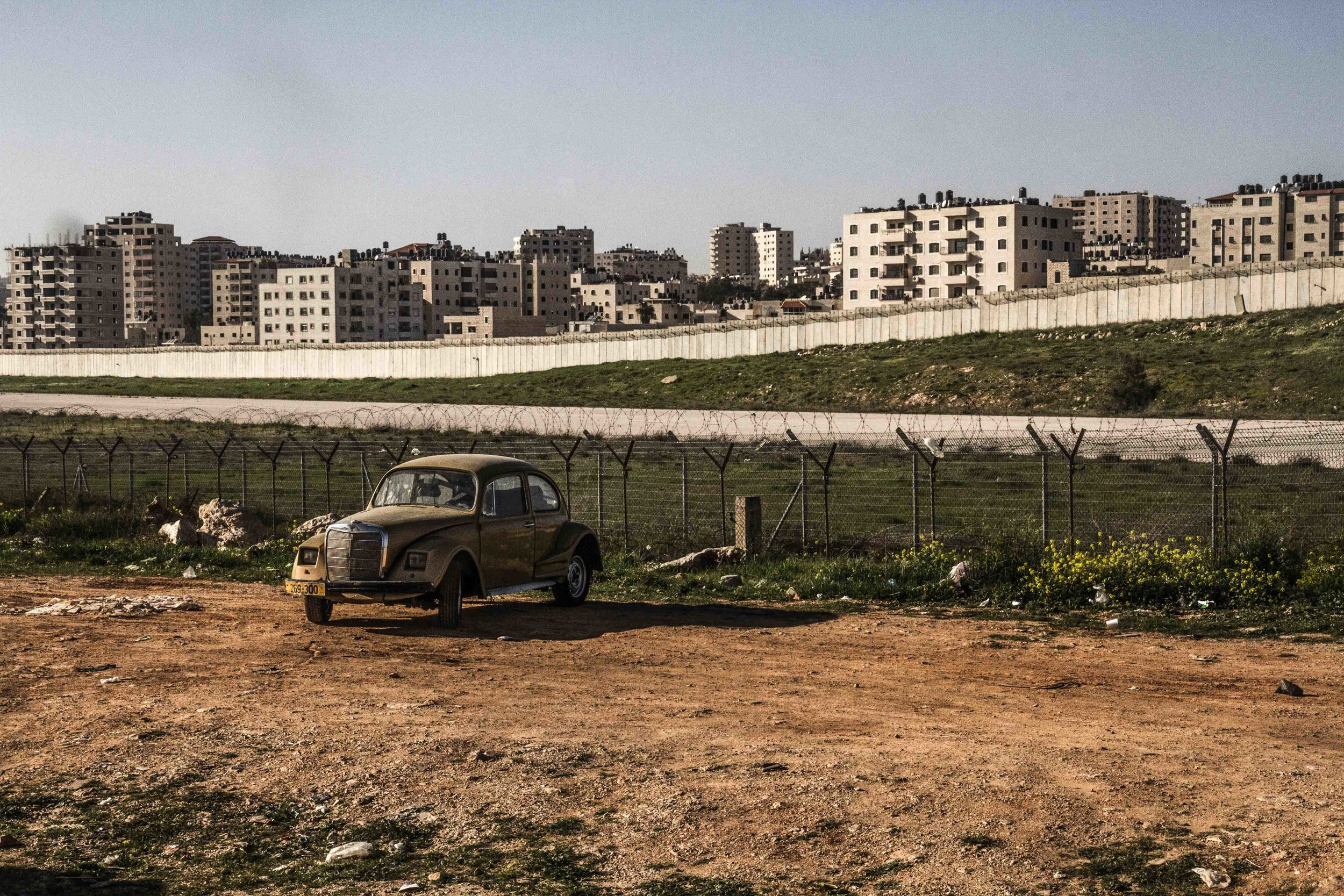 Qalandia Checkpoint Ramallah-Jerusalem   2014