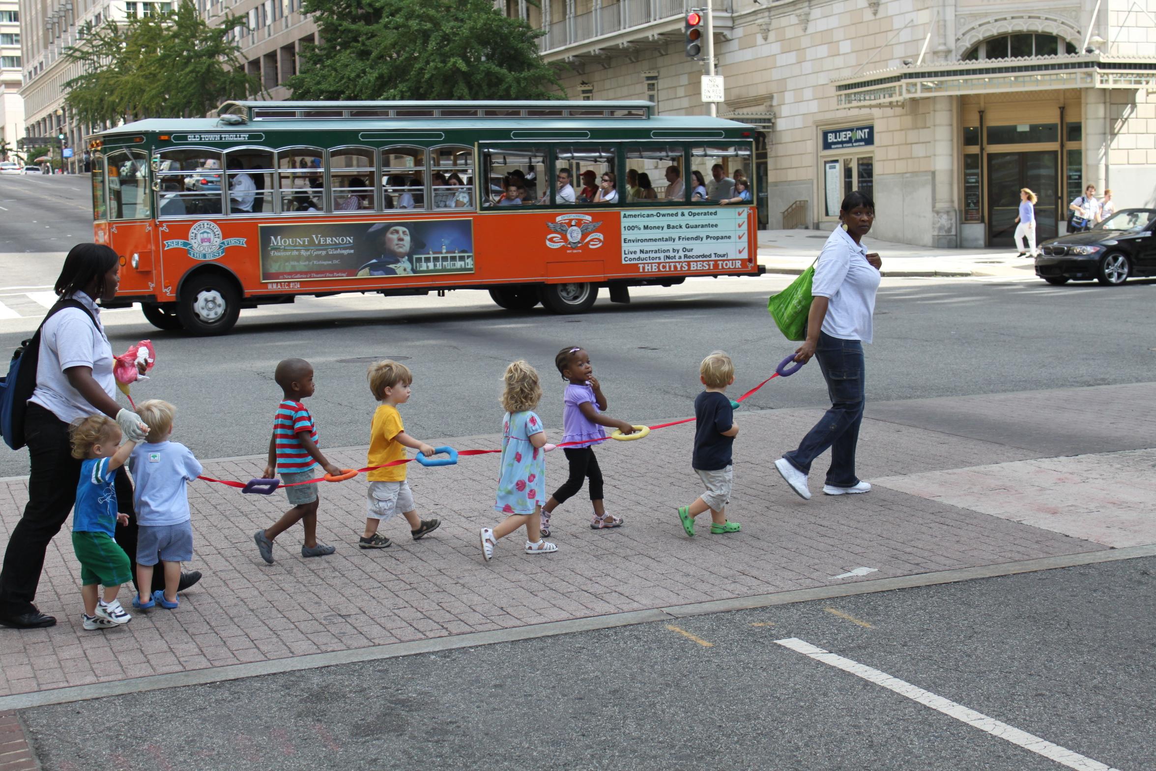 """children crossing the street"" by Mélih on Flikr"