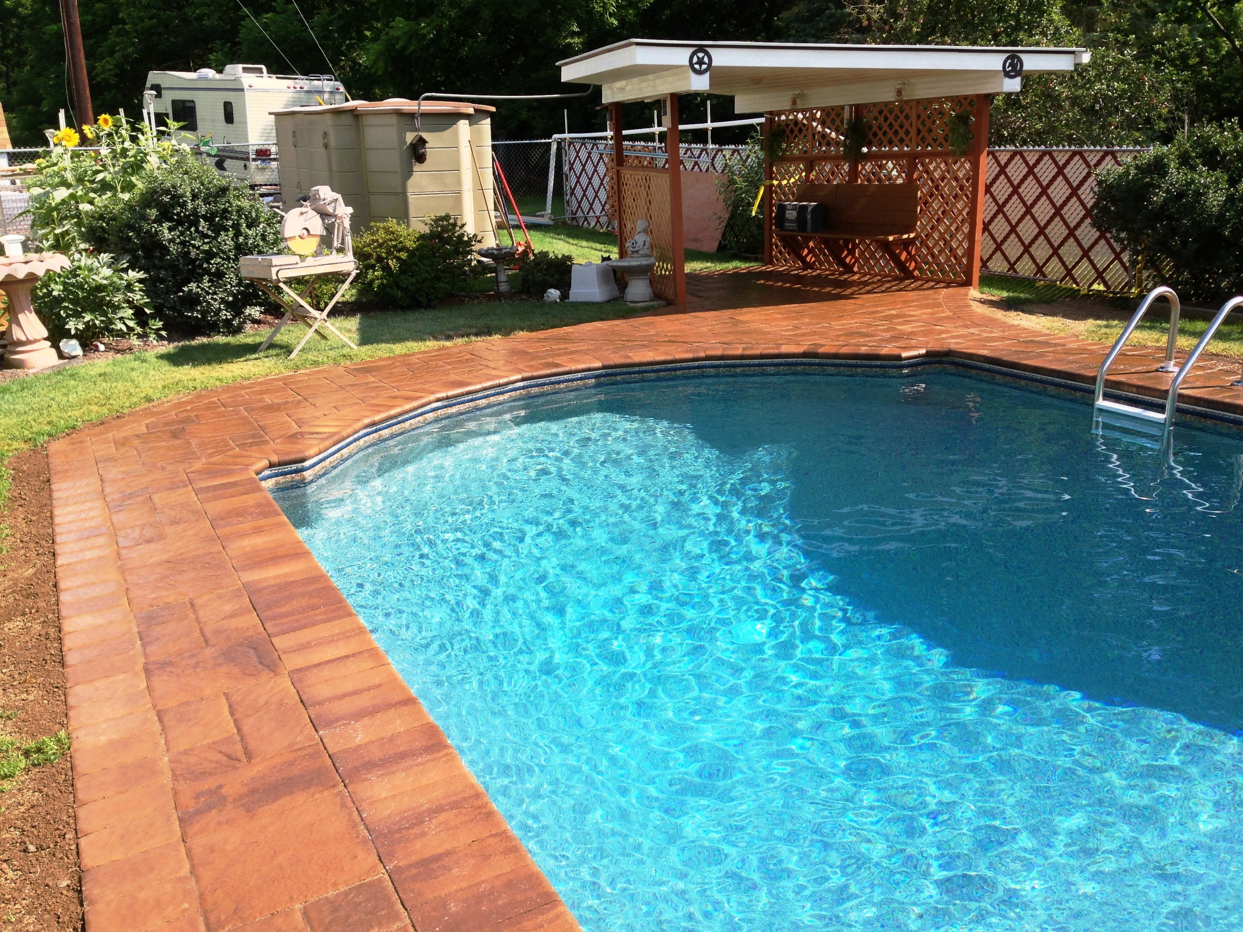 Custom Pool with EP Henry Paver Decking