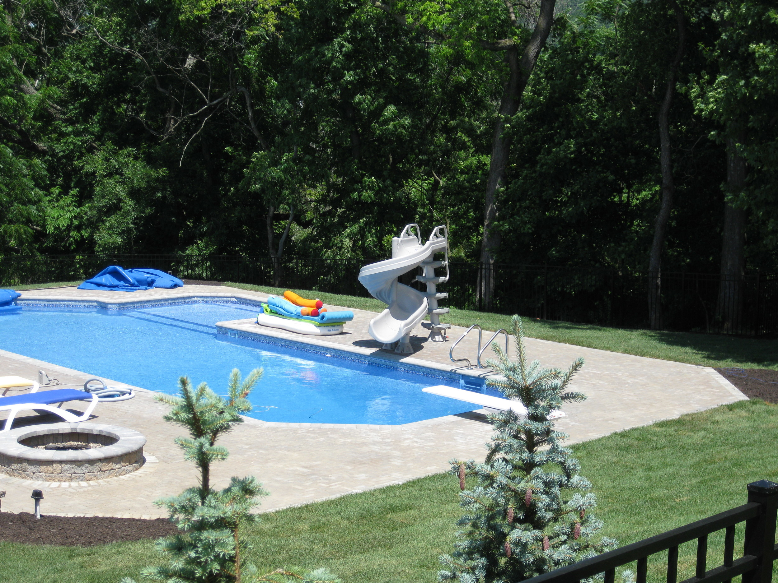 Pool Party Central with this Custom Pool