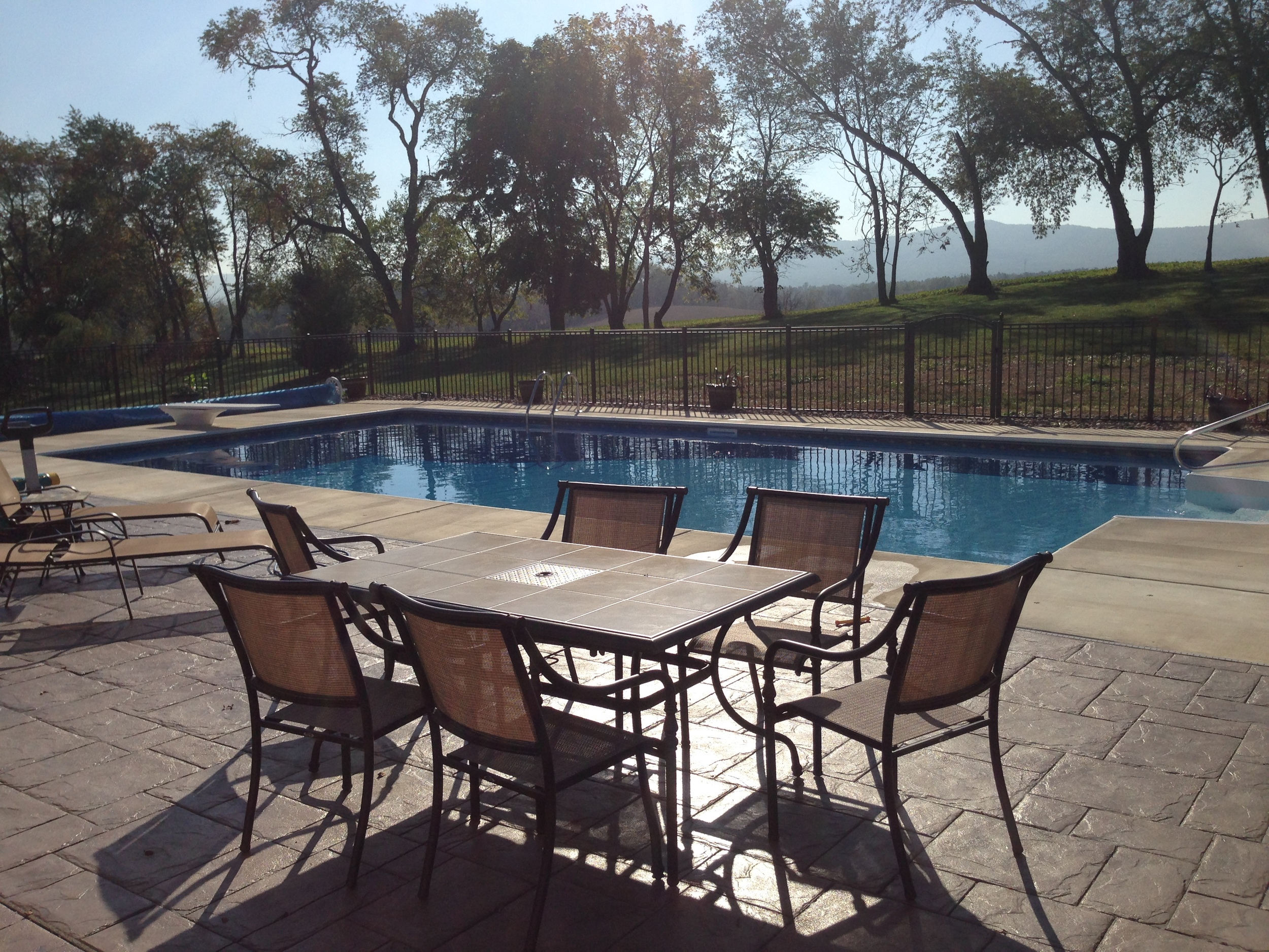 EP Henry Paver Decking and Retaining Walls with Custom Pool