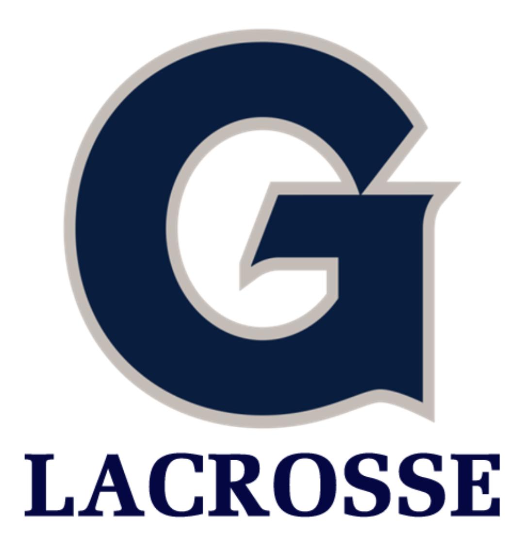 Georgetown University Lacrosse 2020