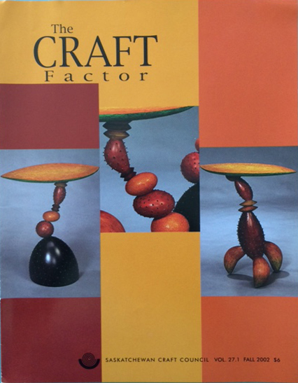 The Craft Factor (TCF) - internationally distributed magazine featuring Michael Hosaluk on the cover.