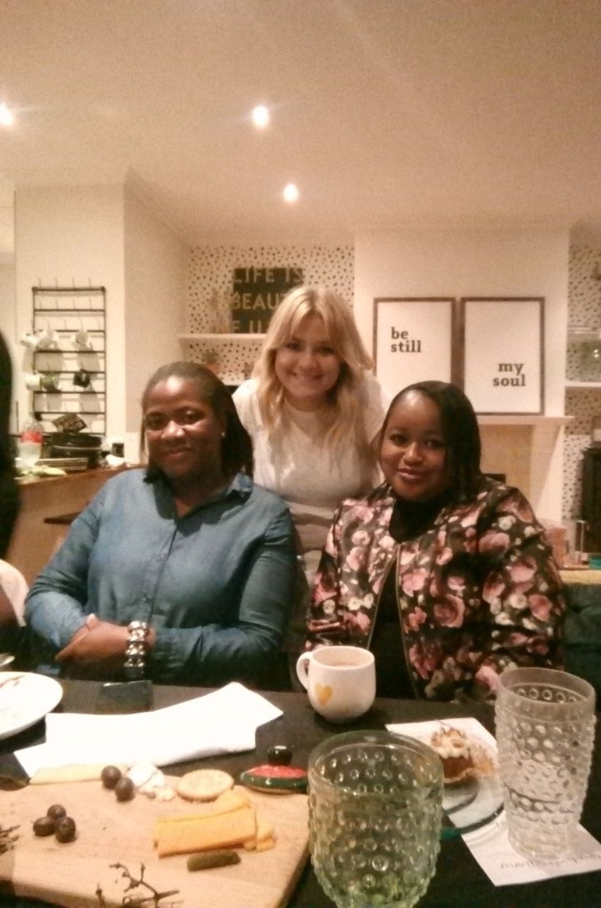These two ladies are responsible for keeping me fed most weekends as I run around and they never fail to have a smile on and hug me on my way in and out. Despite unfair wages, they work with dignity and joy and light up the room!! They are from Zimbabwe!