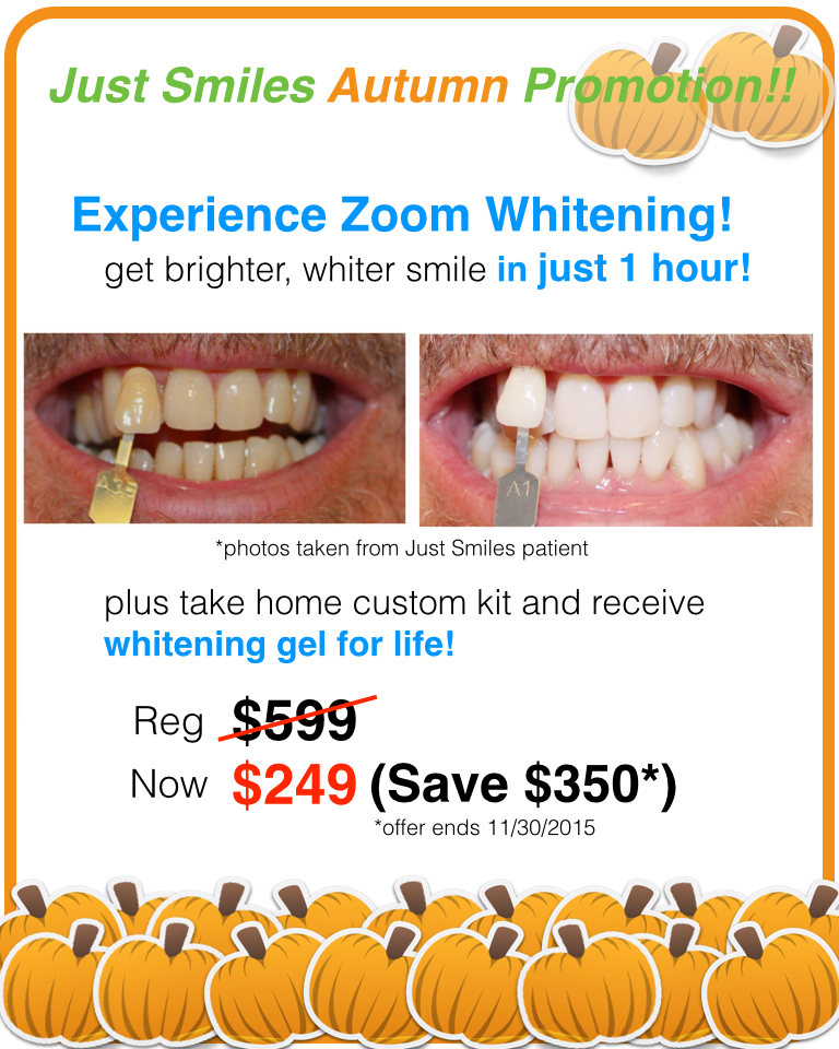 Zoom Whitening Promotion