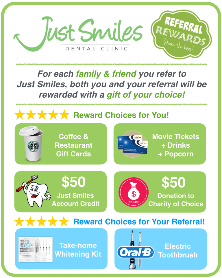 Just Smiles Patient Referral Program