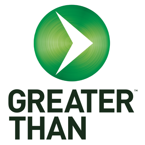 Greater Than Sports Drink logo.png