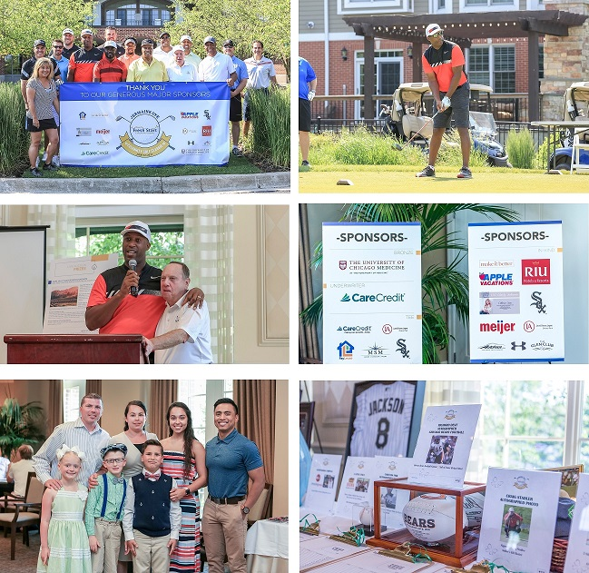 2017 Celebrity Golf Classic Photo Collage