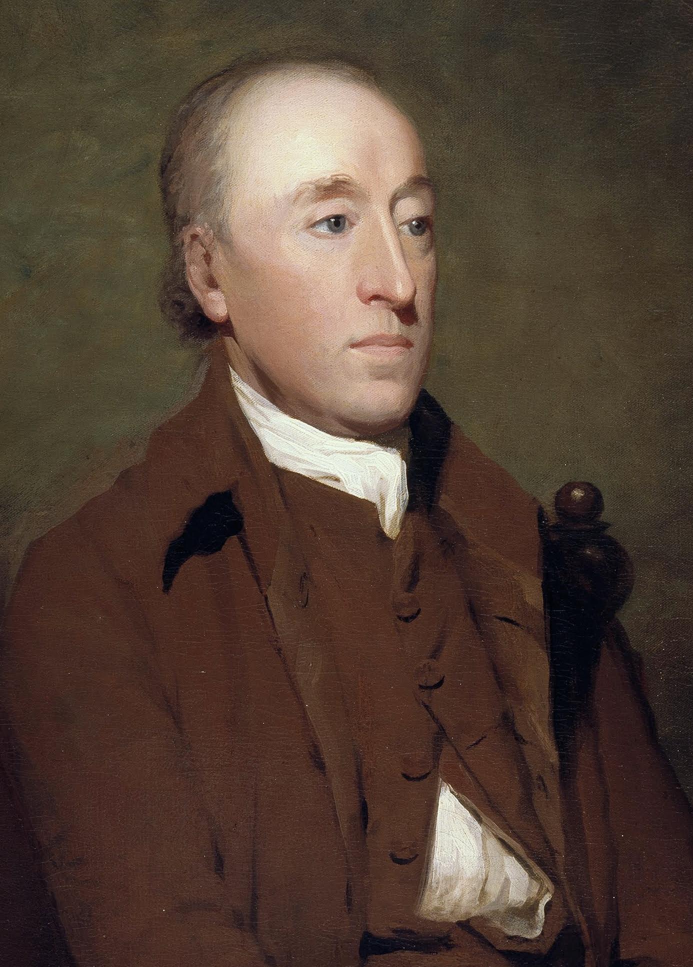 Portrait of Dr James Hutton by Sir Henry Raeburn, c. 1787   © Scottish National Portrait Gallery