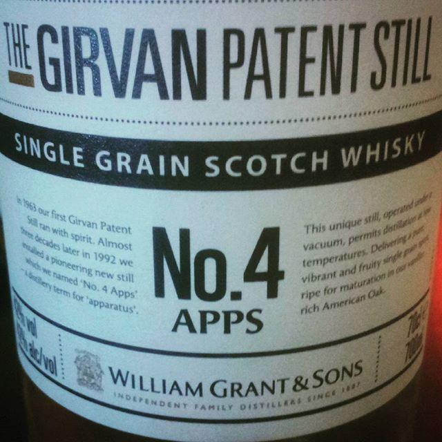 Had a wee taste of this single grain whisky from Grants & Sons yesterday!  #slighhouse #cocktailbar #edinburgh #scotch #singlegrainwhisky #grainwhisky