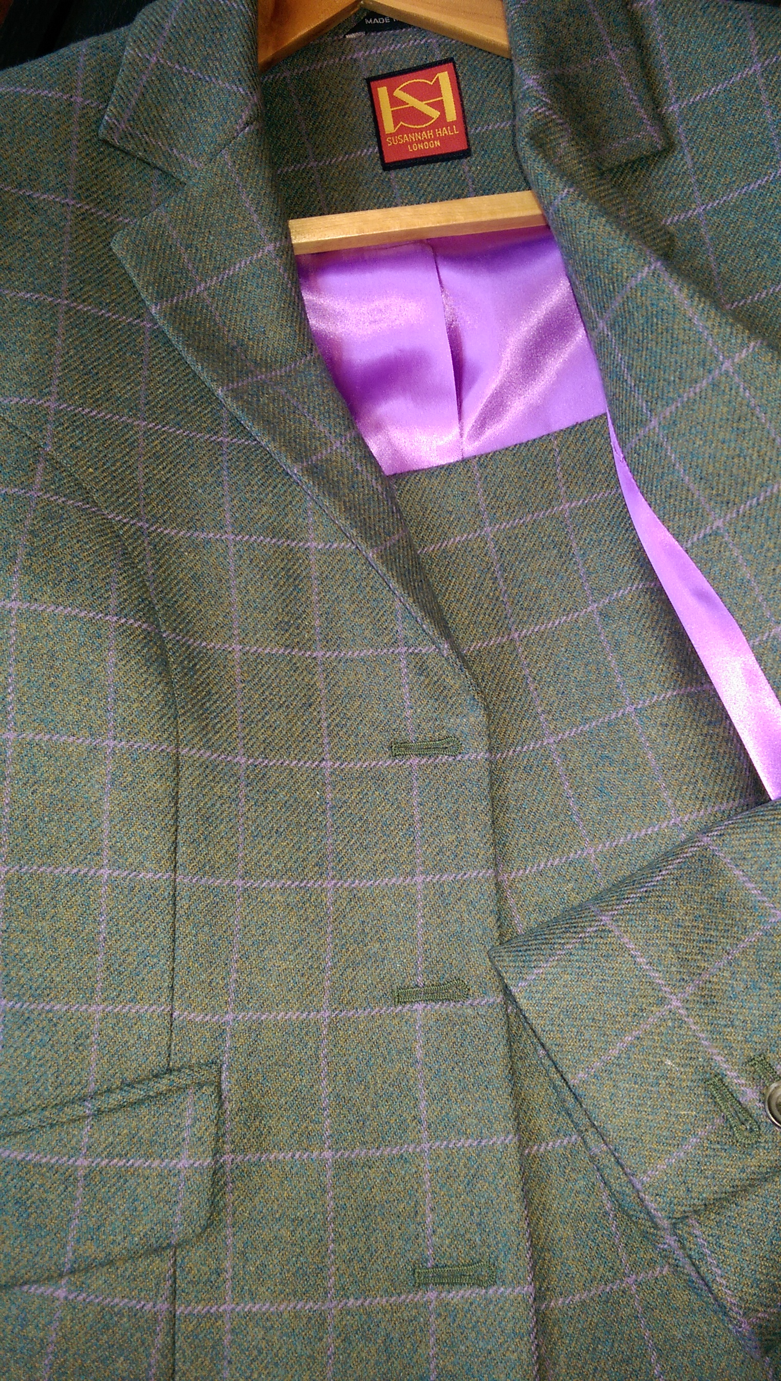 green-purple-lime-tweed-overcheck-lilac-lining-ladies-bespoke-all-uk-made.jpg