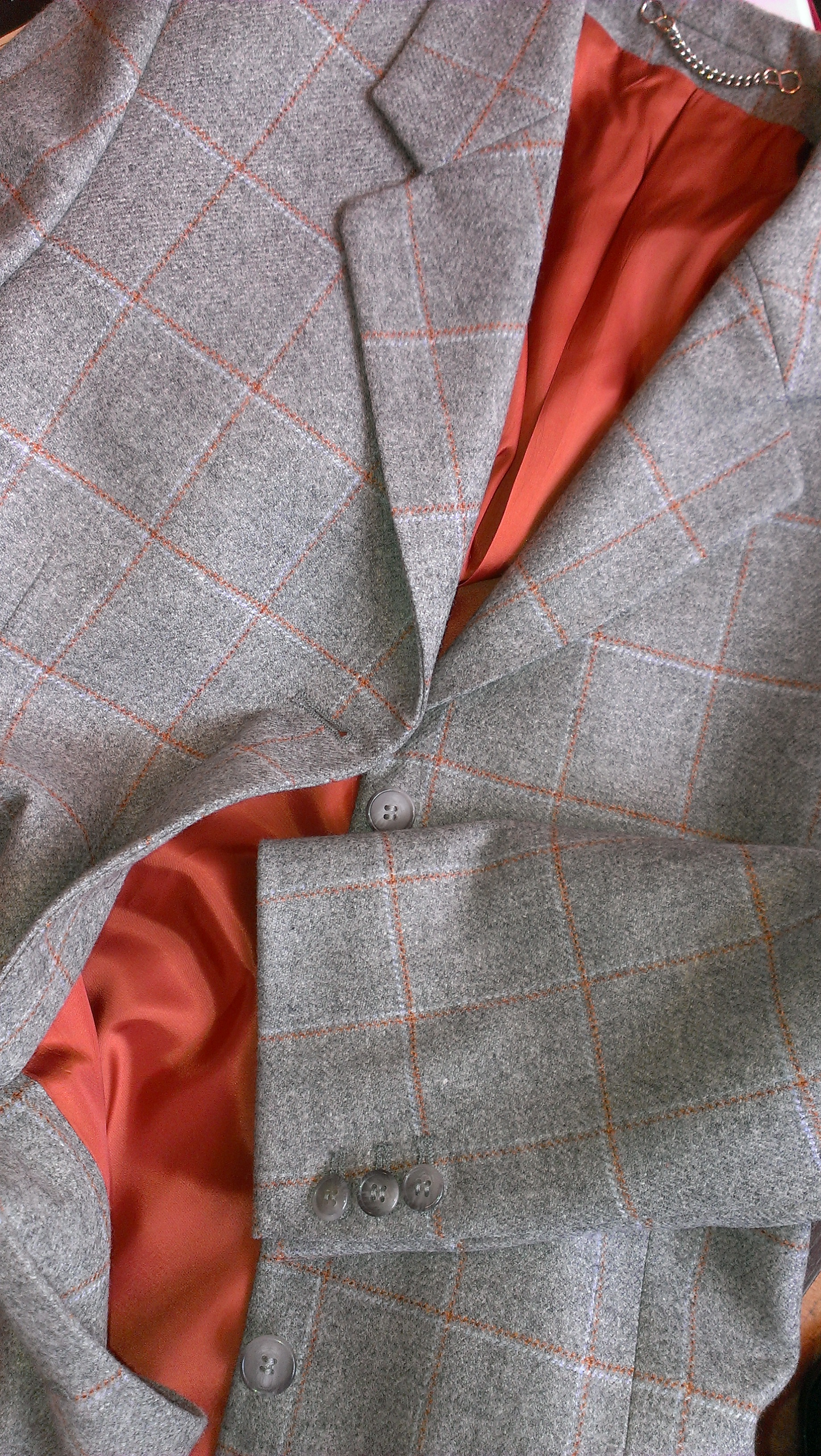 light-grey-dormeuil-orange-overcheck-long-ladies-jacket-bespoke-all-uk-made.jpg
