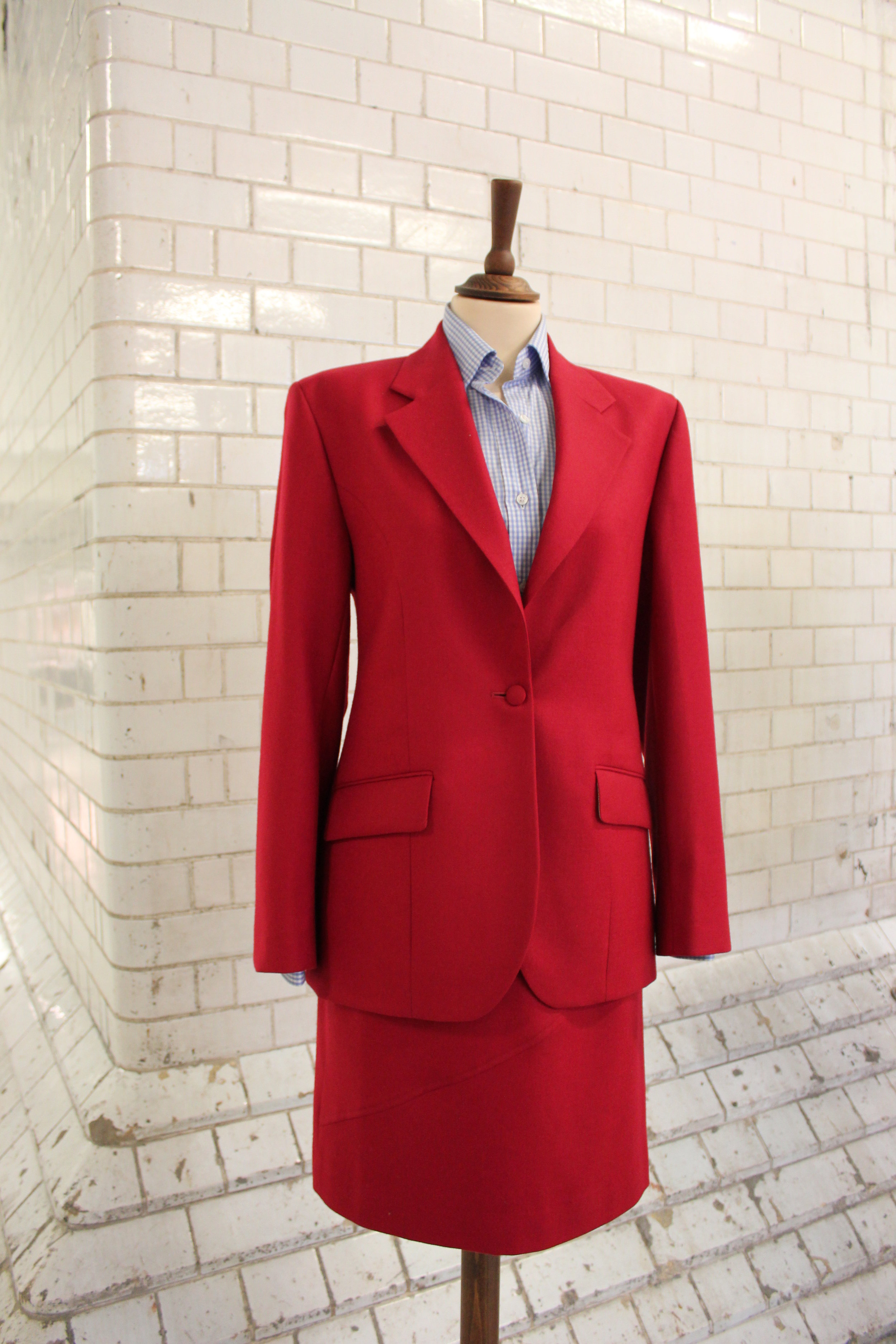 ladies-red-suit-tailor-british-all-uk-made-wool-womenswear-skirt-jacket-gingham-bespoke-shirt.JPG