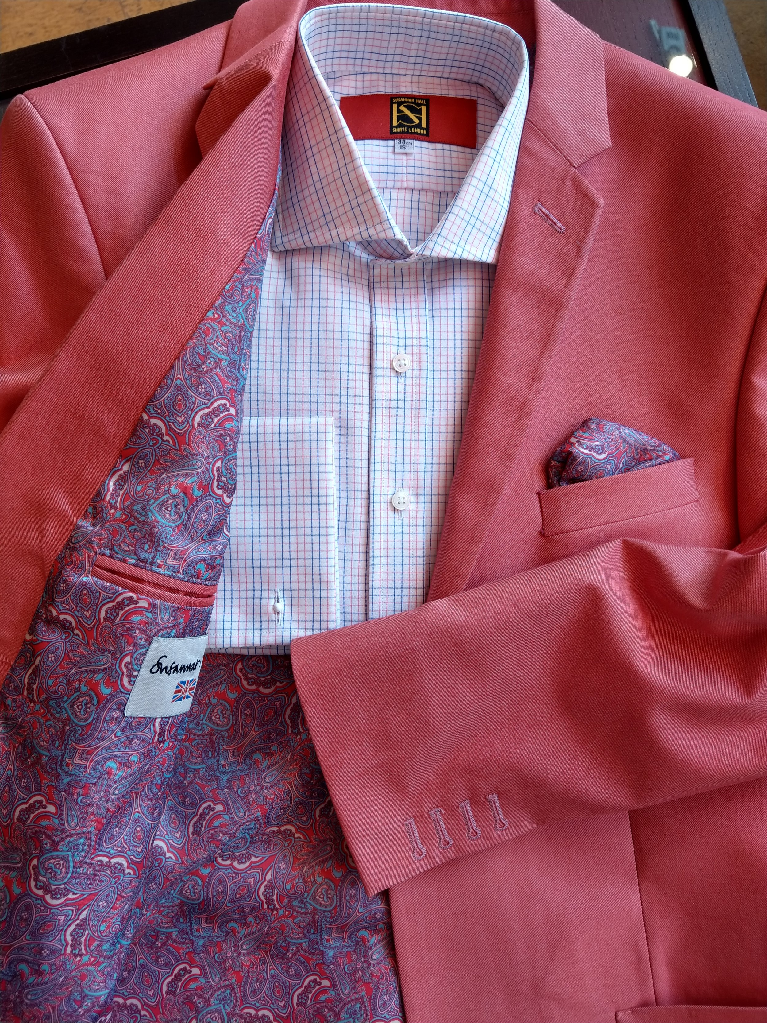 pink-blue-check-shirt-british-made-uk-bespoke-dormeuil-jacket-susannah-hall.jpg