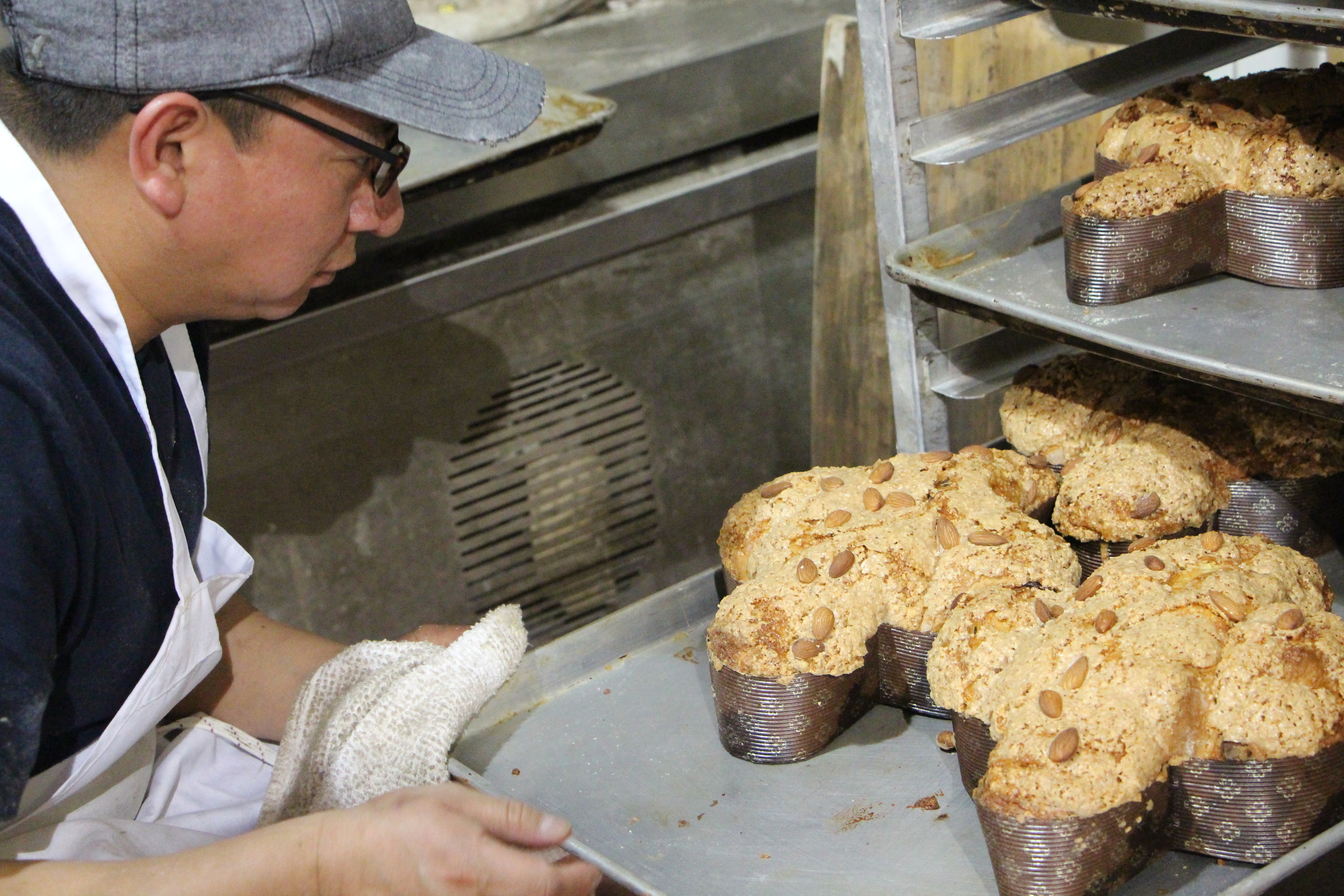 Colomba cooling on the racks