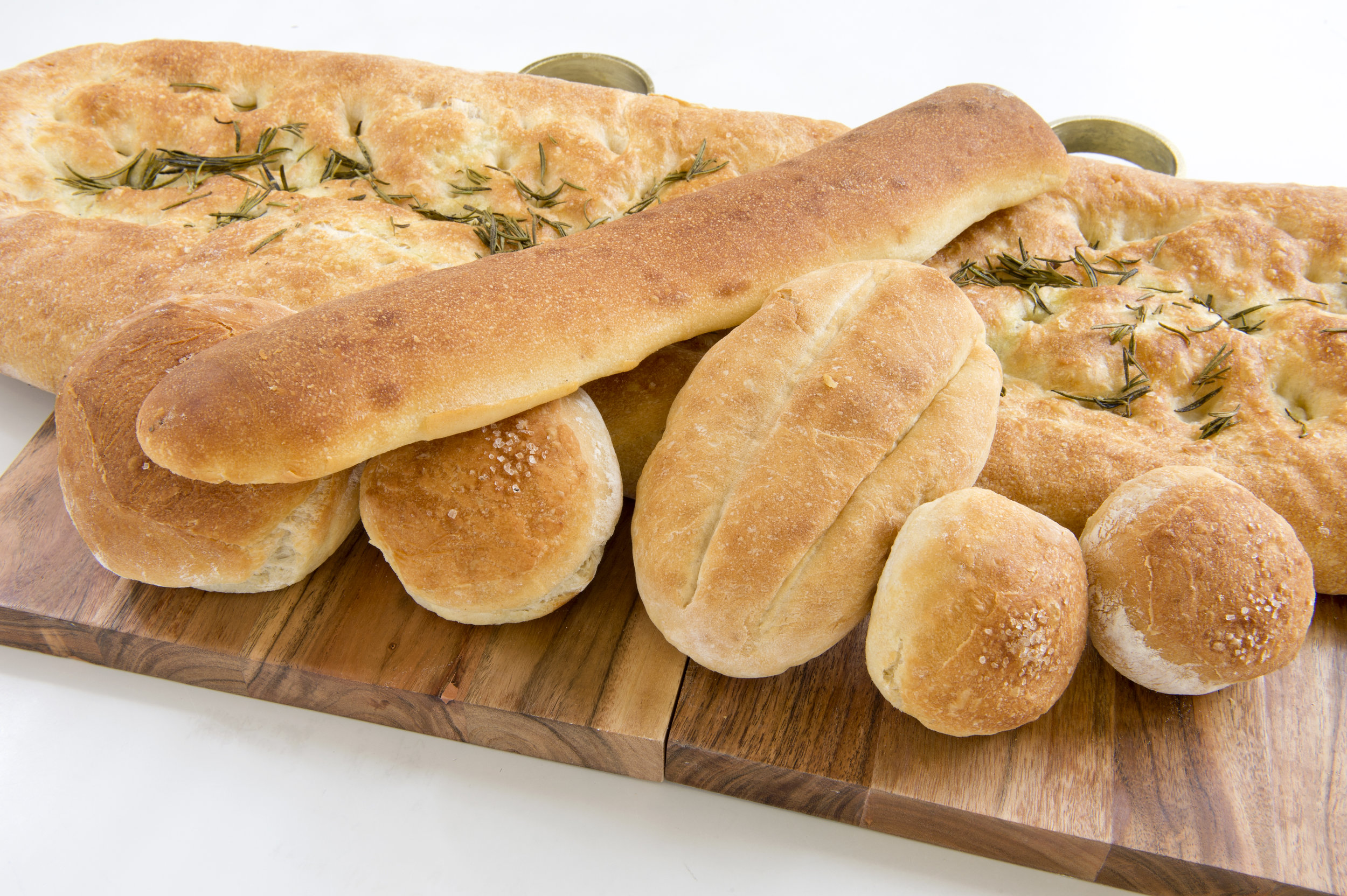 We deliver fresh bread and pizza on a daily basis.