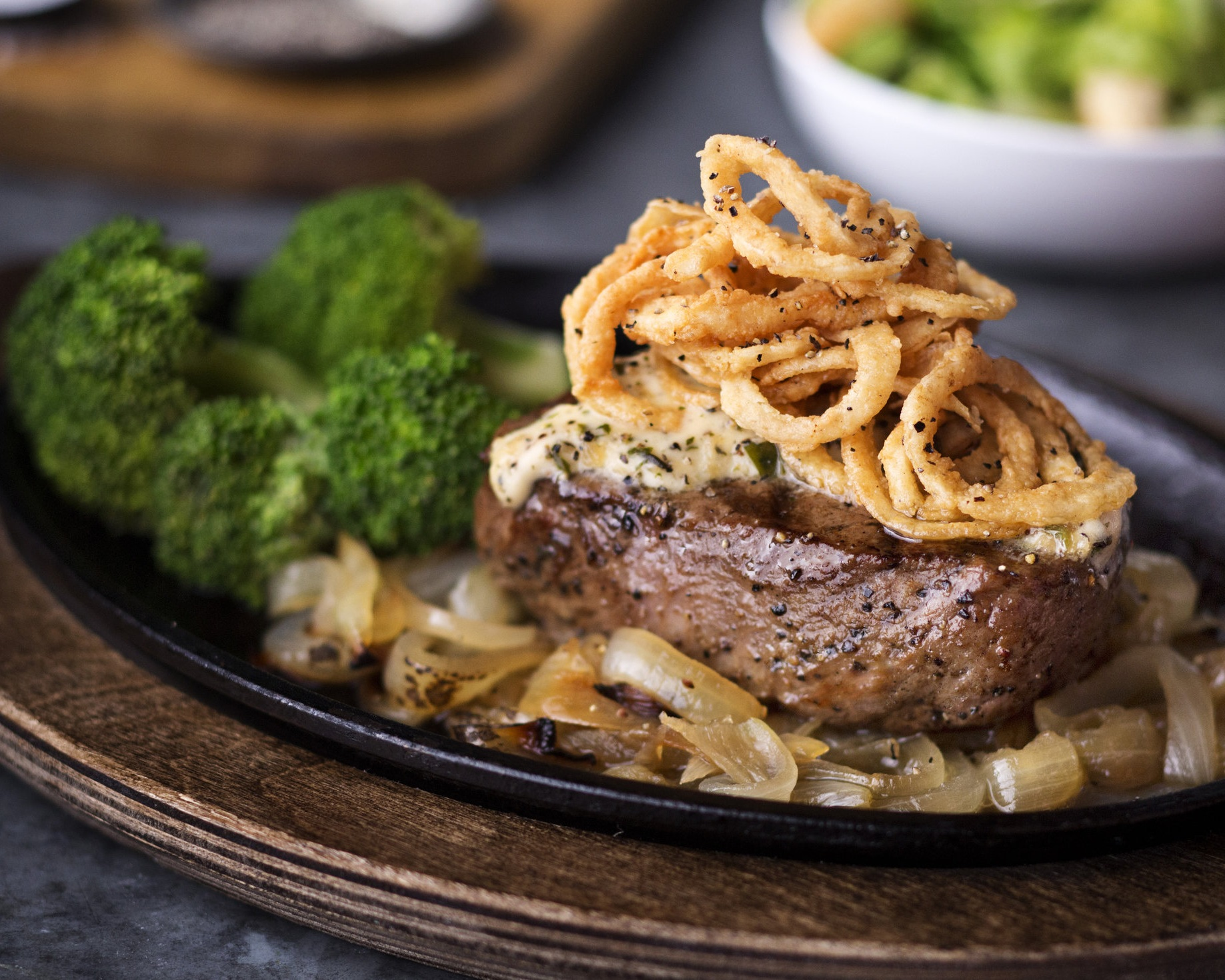 8oz Onion Brewski Steak