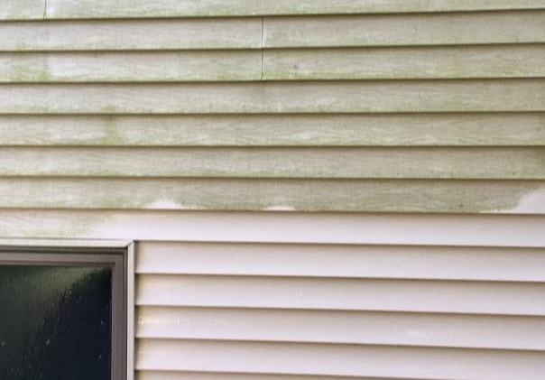 Low Pressure Siding Cleaning in Wisconsin