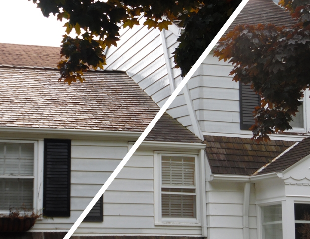 Cedar Roof Cleaning Experts in Wisconsin