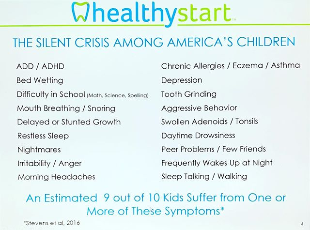 Just check your kids...make sure they aren't snoring, grinding their teeth or breathing with their mouths. #healthystart #nycdentist #airway #prevention