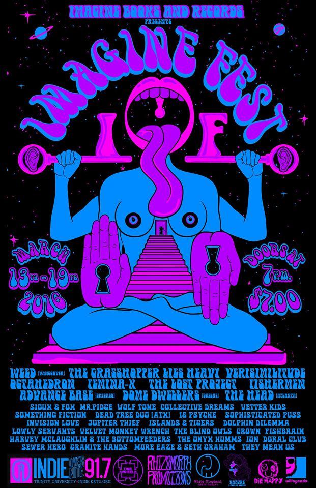 Official line up for Imagine Fest 2016