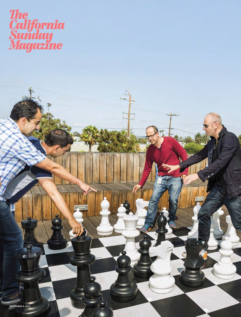The SoCal Network was the cover story for  The California Sunday Magazine  on September 6th 2015